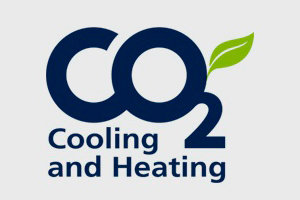 Logo CO2 cooling and heating